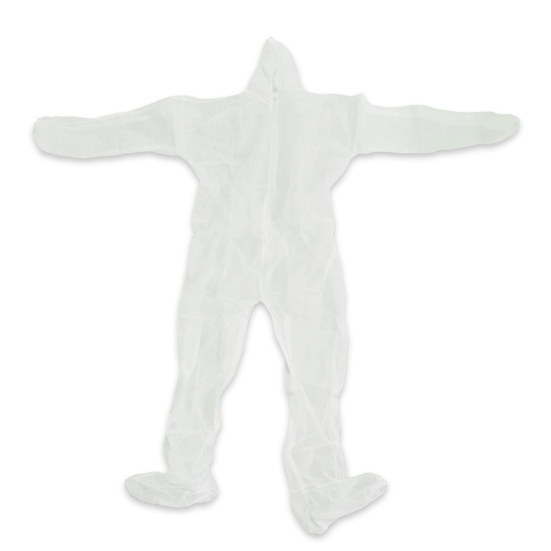Protective Insulation Suit with Hood and Booties